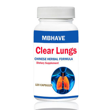 Clear Lung Lung Cleansing Formula 120 Capsules  FREE SHIPPING