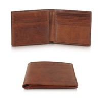 The Bridge Designer Wallets Story Uomo Leather Men's Billfold Wallet