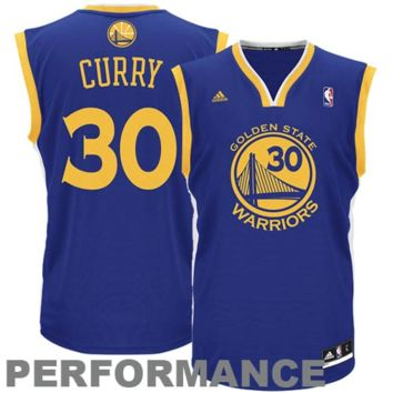 Stephen Curry Golden State Warriors adidas Replica Road Jersey - Royal Blue