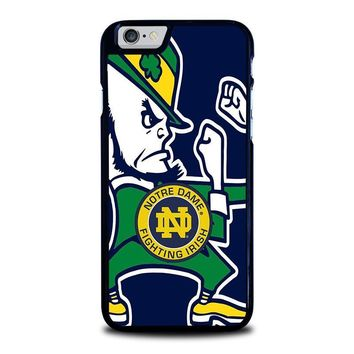 notre dame fighting irish iphone 6 6s case cover  number 1