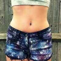 Galaxy Shorts from harrietnr