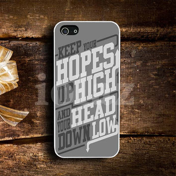 Keep Your Hopes Design mobile Phone case