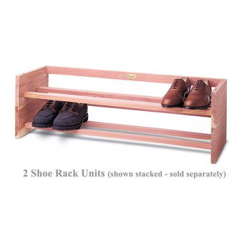 Shoe Rack Topper by Woodlore