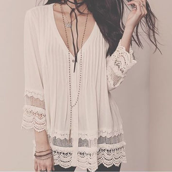 Apparel ~ Abley Boho Tunic