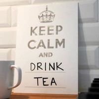 Keep Calm Board (White 300 x 400mm)