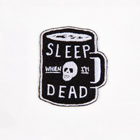 Glamour Kills - Mini Sleep When I'm Dead Patch