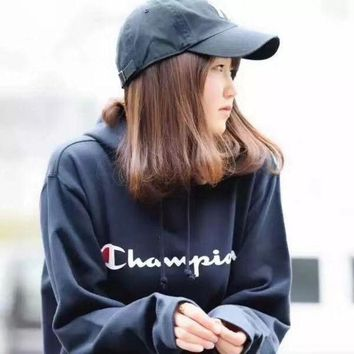 PEAPUP0 Champion Women Hooded Fashion Hoodie Pullover Top Sweater3