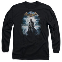 BATMAN AA/GAME COVER - L/S ADULT 18/1 - BLACK -