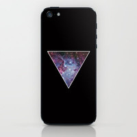 Galaxy Space Triangle  iPhone & iPod Skin by RexLambo | Society6