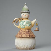 Enesco Jim Shore River's End Teapot Snowman NIB #4048061