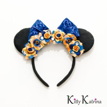 Princess Merida Mouse Ears Inspired Headband, Merida Brave Birthday, Merida Brave Party, Disney Bound, Disney Crown, Disney Headband