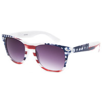 Blue Crown Americana Classic Sunglasses Red One Size For Men 25758230001