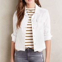 Paige Rowan Denim Jacket in White Size: