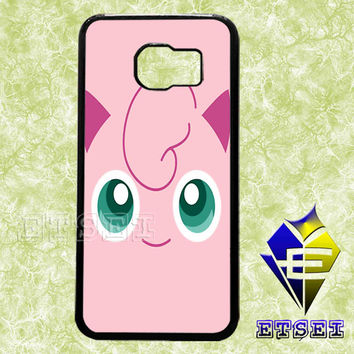 Jigglypuff Face Pokemon case For Samsung Galaxy S3/S4/S5/S6 Regular/S6 Edge and Samsung Note 3/Note 4 case