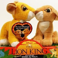 Disney's The Lion King Sweetheart Simba & Nala