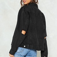 Bad Mouth Denim Jacket
