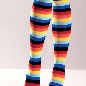 Rainbow Knee Highs