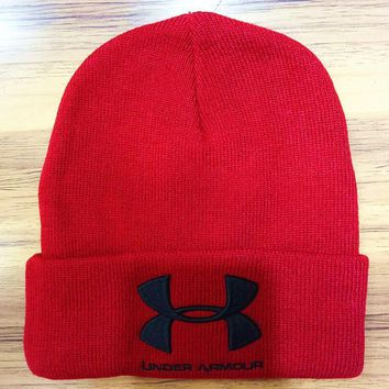 Under Armour Hip Hop Women Men Beanies Winter Knit Hat Cap-2