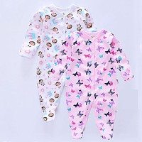 Baby Bodysuit Baby girl Jumpsuits newborn Pajamas infant clothes baby long sleeve bodysuits baby cotton Jumpsuit