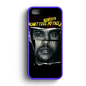 The Weeknd Can'T Feel My Face Quotes iPhone 5 Case iPhone 5s Case iPhone 5c Case