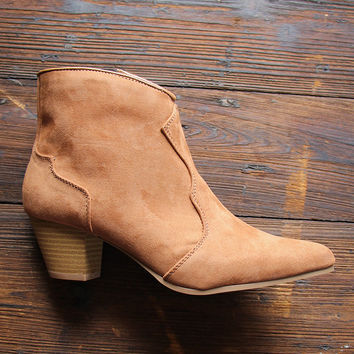 The Oakley Booties In Camel