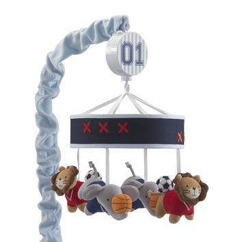 Lambs & Ivy Future All Star Musical Baby Crib Musical Mobile