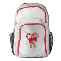 Candy Canes Nike Backpack
