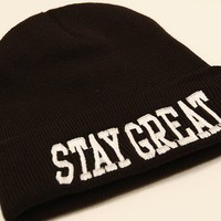 Stay Great Beanie | STAY GREAT APPAREL
