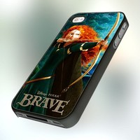 Merida Brave Disney design for iPhone 4 or 4S Case / Cover