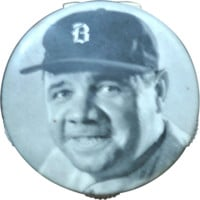 1935 Babe Ruth Scorer -  Quaker Oats Promotional Campaign - Celluloid