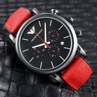 HCXX A0034 Armani Emporio Fashion Watches Red