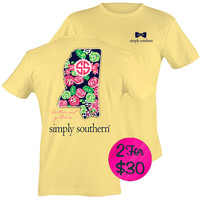 """Simply Southern """"Mississippi"""" T-shirt"""