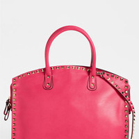 Valentino 'Rockstud' Leather Dome Satchel | Nordstrom