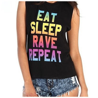 Eat Sleep Rave Repeat Tank