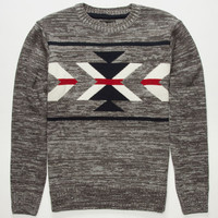 Retrofit Nagano Mens Sweater Charcoal  In Sizes