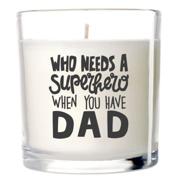 Dad Candle