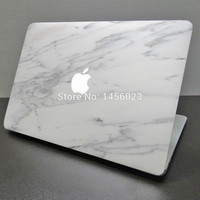 "Unique Marble Grain Print Laptop Sticker for Apple MacBook Air/Pro/Retina 11"" 13"" 15 Vinyl Full Cover Mac Notebook Skin Sticker"