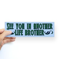 LOST Brother Bumper Sticker on CafePress.com