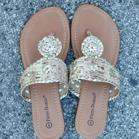 Preppy Sandal - Neutral Cork