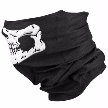 2016 Head Face Mask Skull Balaclava Traditional Face Head Mask Gator Black NWT Best Seller