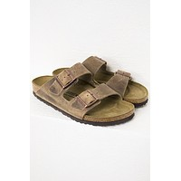 Arizona Tobacco Oiled Leather Birkenstocks