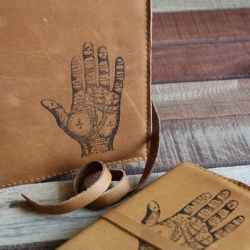 Palmist Hand Leather Journal