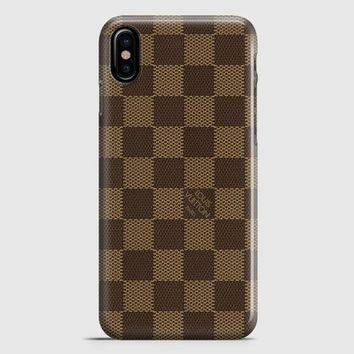 Louis Vuitton Damier iPhone X Case