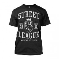 "Street League ""Super Crown Black Moment of Truth"" T-Shirt"