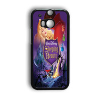Sleeping Beauty Inspired Vintage HTC One M9 Case