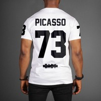 Jay-Z Picasso 73 Baby Magna Carta Tour T-Shirt - WEHUSTLE | MENSWEAR, WOMENSWEAR, HATS, MIXTAPES & MORE