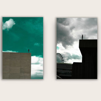 Art and Architecture Photography - A set of 2 Fine Art Archival Prints with a 15% discount, Minimalistic Wall Art.