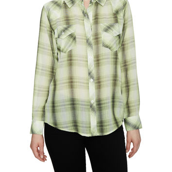 Rails Women's Taylor Picnic Checked Shirt - Yellow -