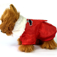 Red Airforce Sherpa Dog Jacket