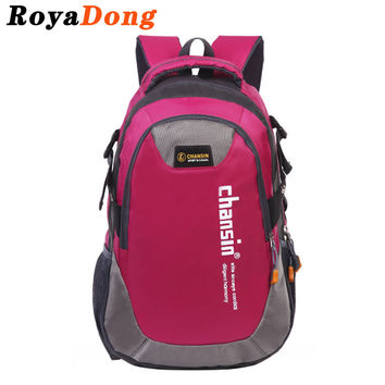 RoyaDong Big Size Backpack School Bag For Teenage Girls Boys Kids Mochila  Escolar Outdoor Bagpack Rucksack Sac A Dos Enfant